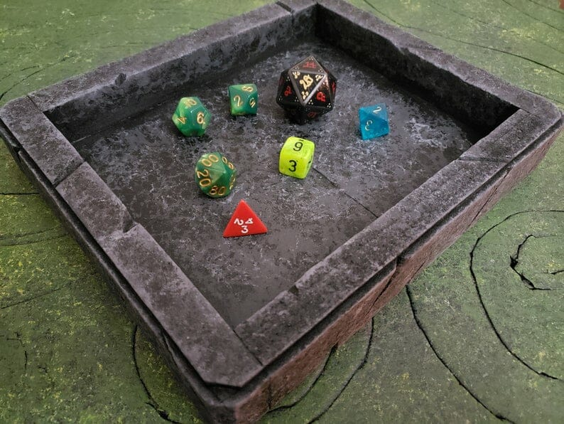 Personalise your dice tray